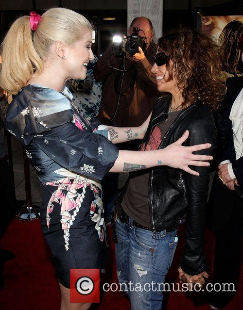 Kelly Osbourne and Linda Perry Screening of God...