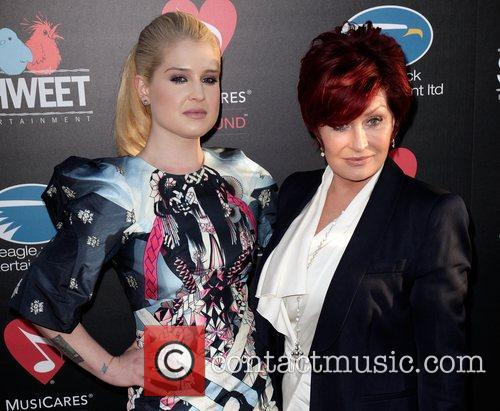 Kelly Osbourne and Sharon Osbourne Screening of God...
