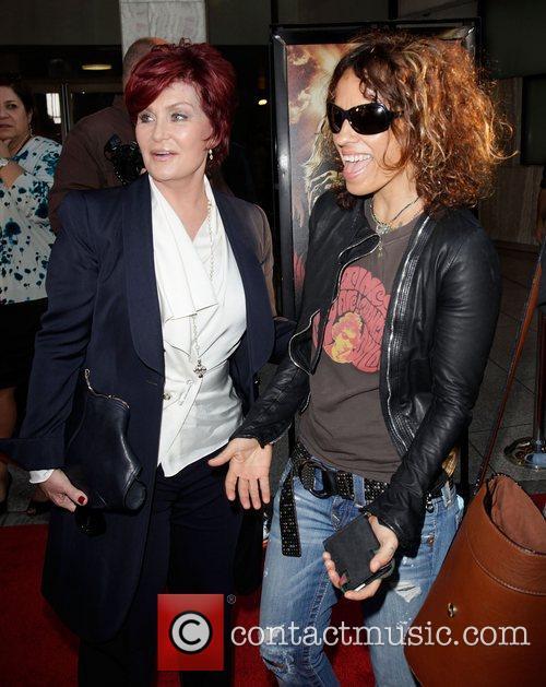 Sharon Osbourne and Linda Perry Screening of God...