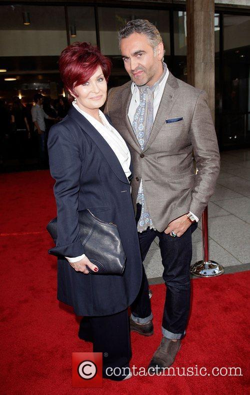 Sharon Osbourne and Martyn Lawrence Bullard  Screening...