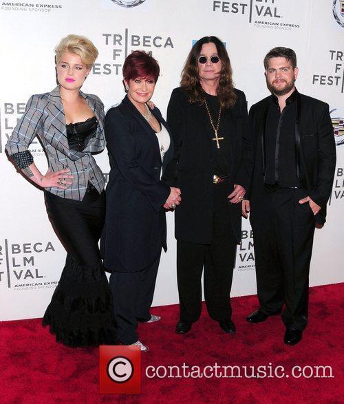 Kelly Osbourne, Sharon Osbourne, Ozzy Osbourne and Jack Osbourne at TIFF 2011