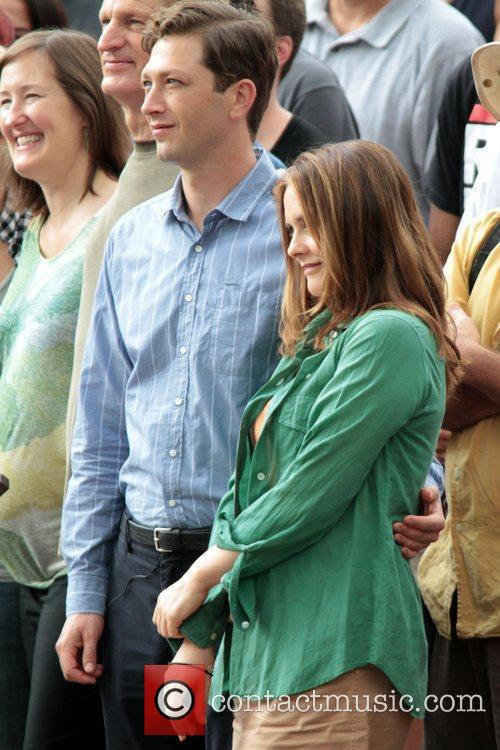 Ebon Moss-bachrach, Alicia Silverstone and Central Park