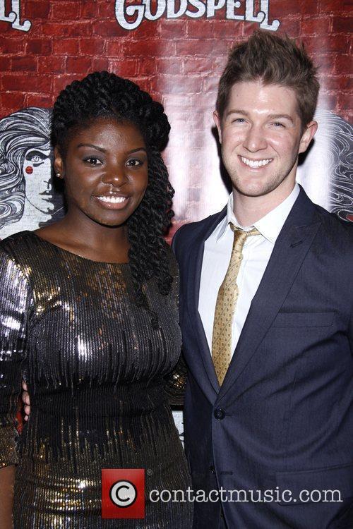 Joaquina Kalukango and Eric Michael Krop Opening night...