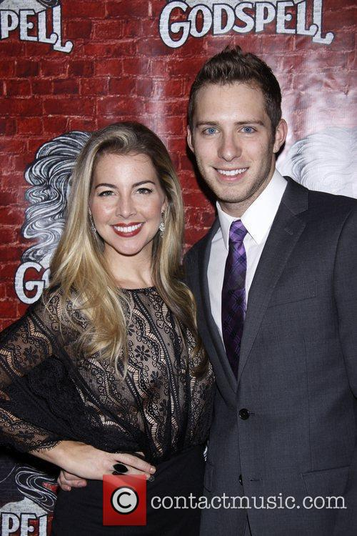 Morgan James and Corey Mach Opening night after...