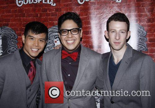 Telly Leung, George Salazar and Nick Blaemire Opening...