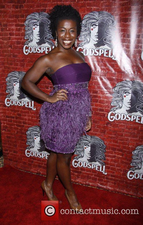 Uzo Aduba Opening night after party for the...