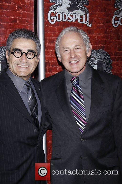 Eugene Levy and Victor Garber  Opening night...