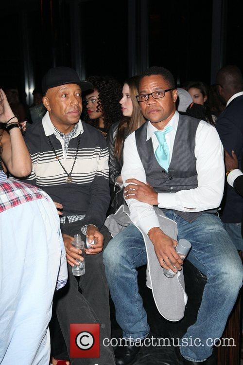 Russell Simmons and Cuba Gooding Junior 8