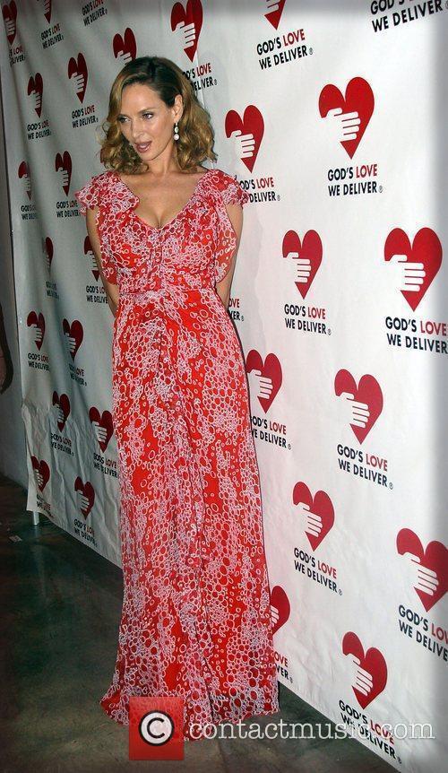 Uma Thurman at the Golden Heart Awards 2011...