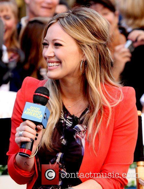 Hilary Duff and Good Morning America 7