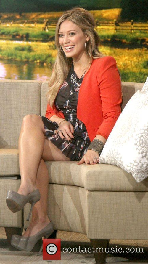 Hilary Duff and Good Morning America 6