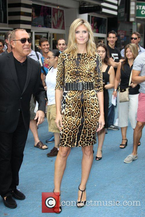 Michael Kors and Heidi Klum 3