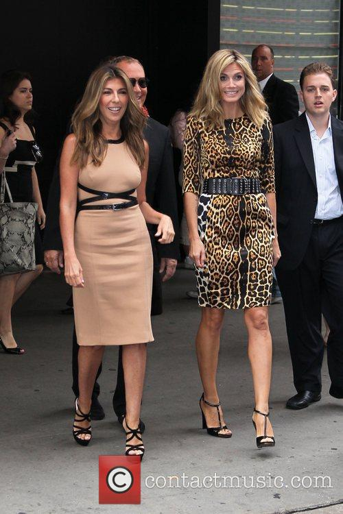 Nina Garcia, Heidi Klum and Michael Kors 1