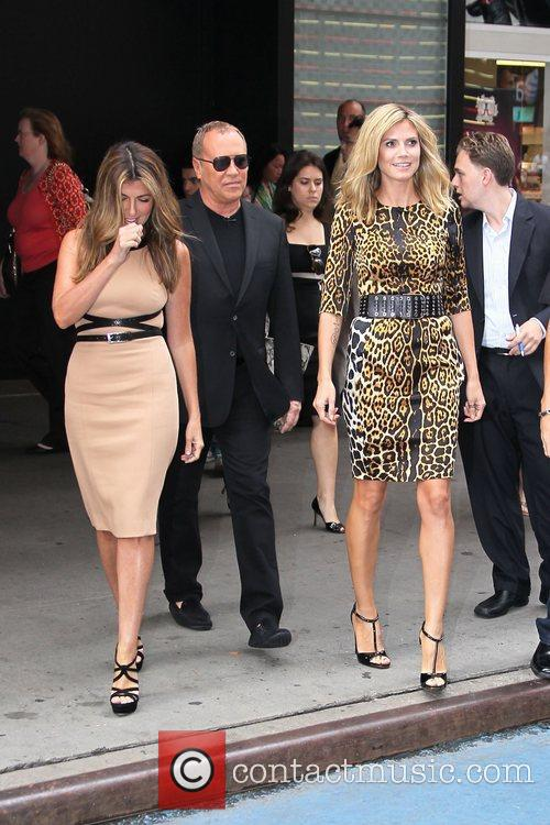Nina Garcia, Heidi Klum and Michael Kors 4