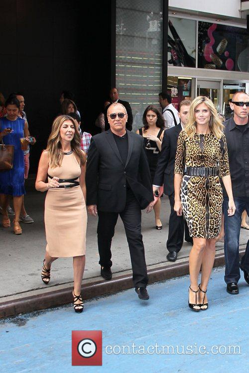 Nina Garcia, Heidi Klum and Michael Kors 6