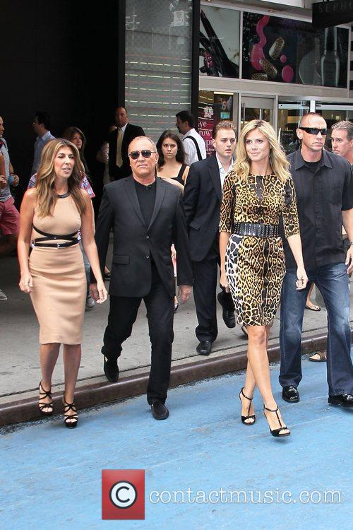 Nina Garcia, Heidi Klum and Michael Kors 5