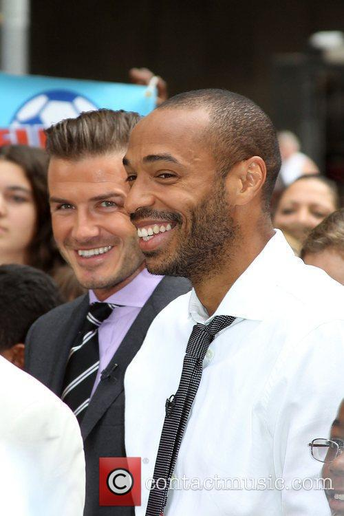 Thierry Henry and David Beckham 8