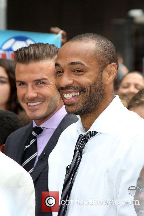 Thierry Henry and David Beckham 5