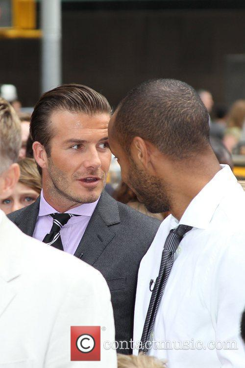 Thierry Henry and David Beckham 6