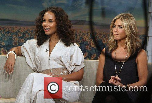 Alicia Keys, Jennifer Aniston, Good Morning America