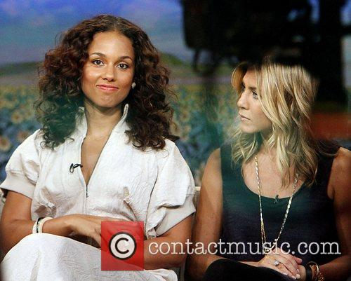 Alicia Keys, Jennifer Aniston and Good Morning America 3