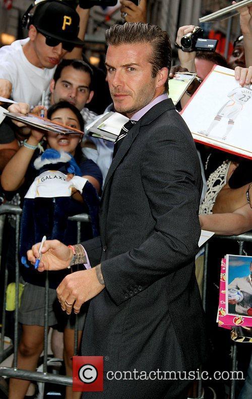 David Beckham 33