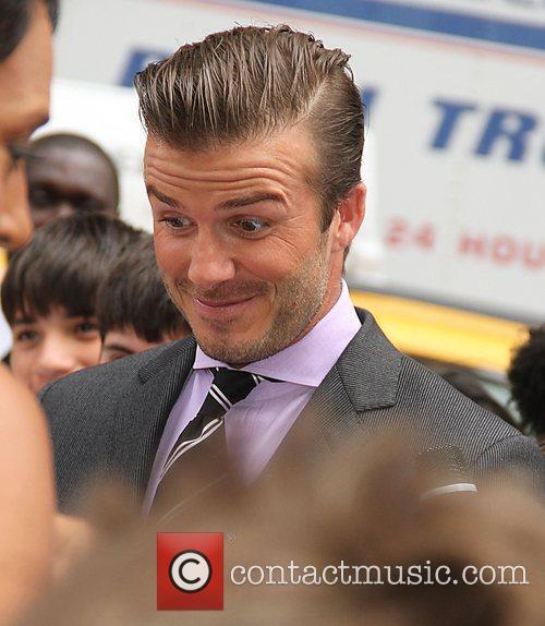 David Beckham 25