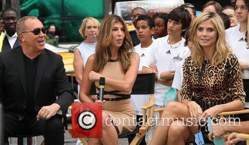 Michael Kors, Heidi Klum and Nina Garcia 5