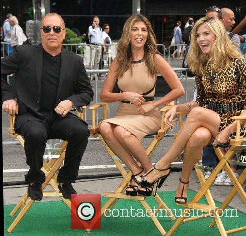 Michael Kors, Heidi Klum and Nina Garcia 1