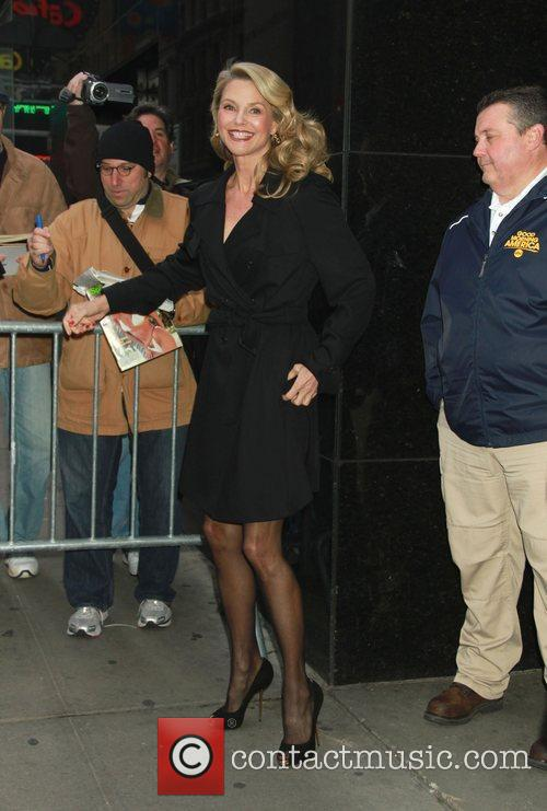 Good Morning America Email : Christie brinkley outside the good morning america