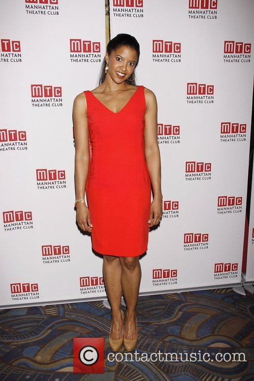 Renee Elise Goldsberry Opening night after party for...