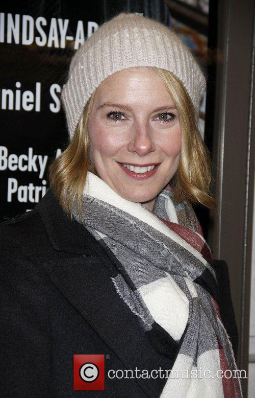 Amy Ryan Opening night of the Broadway production...