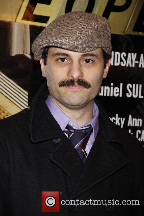 Arian Moayed Opening night of the Broadway production...