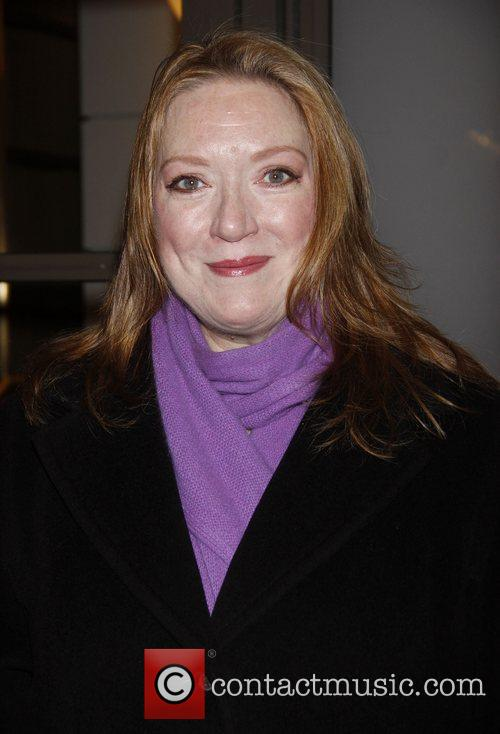Kristine Nielsen Opening night of the Broadway production...