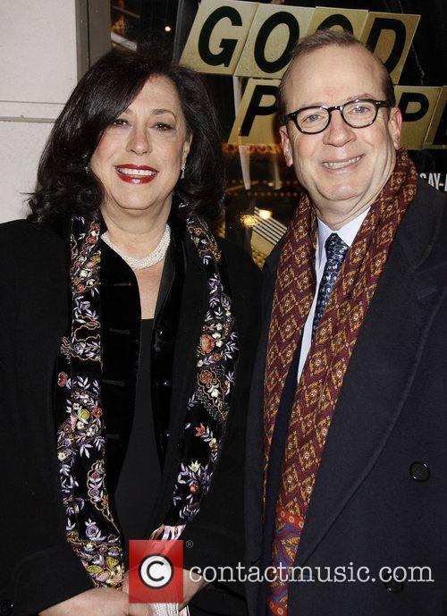 Lynne Meadow and Barry Grove Opening night of...