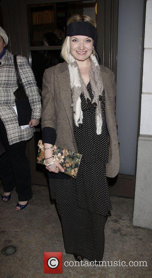 Mary Catherine Garrison Opening night of the Broadway...