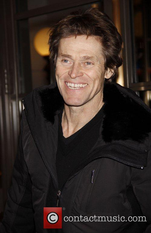 Willem Dafoe Opening night of the Broadway production...