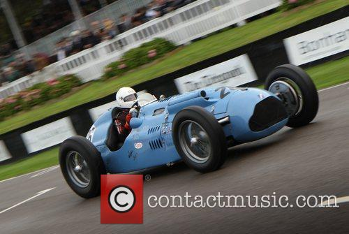 Atmosphere Goodwood Revival at the Goodwood Estate in...