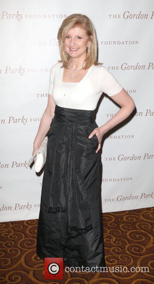 Arianna Huffington at the Gordon Parks Foundation awards...