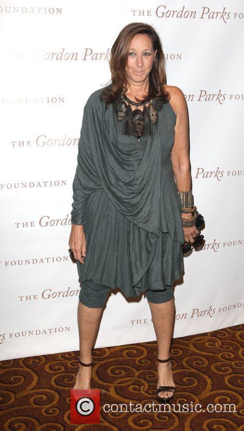 Designer, Donna Karen at the Gordon Parks Foundation...