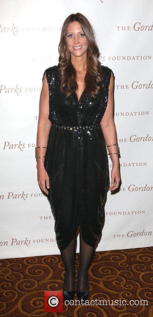Stephanie Winston Wolkoff at the Gordon Parks Foundation...