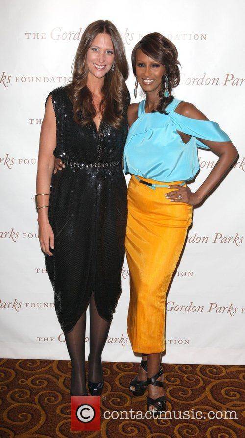 Stephanie Winston Wolkoff and Iman at the Gordon...