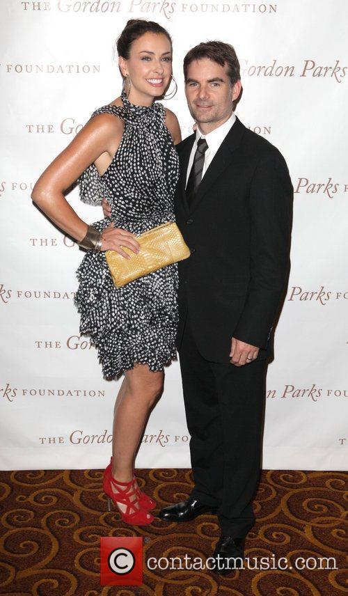Ingrid Vandebosch, Jeff Gordon at the Gordon Parks...