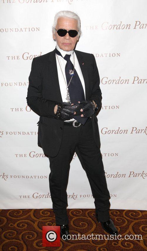 Karl Lagerfeld and Gordon Parks 2