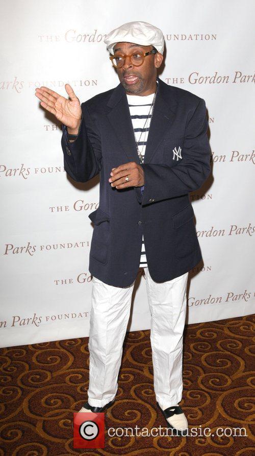 Spike Lee at the Gordon Parks Foundation awards...