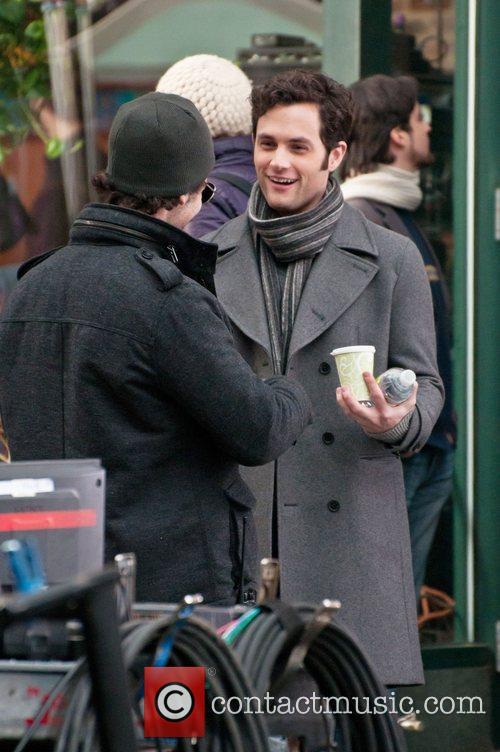 On the set of 'Gossip Girl', filmed in...