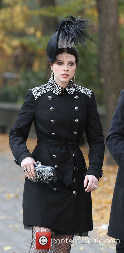 On the set of 'Gossip Girl' in New...