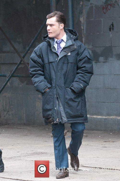 'Gossip Girl' filming in Greenpoint, Brooklyn