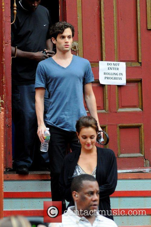 On the set of 'Gossip Girl' shooting on...