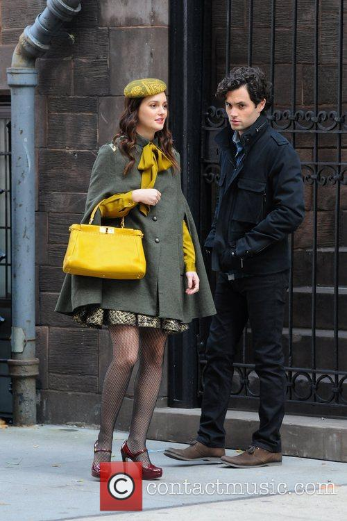 Leighton Meester and Penn Badgley 3